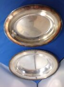Silver Plate Covered Casserole Hand039orderves Dish Avon Wmrogers3612 Vtg