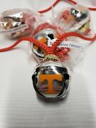 Tennessee Volunteers Christmas Bell Necklace Party Ncaa New