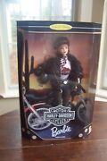 Harley-davidson Motorcycles Barbie Collector Edition Second In A Series 20441