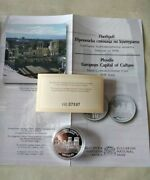 Silver Coin European Capital Of Culture Plovdiv 2019