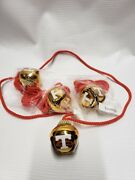 Tennessee Volunteers White T Christmas Bell Necklace Party Ncaa New