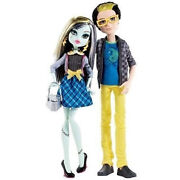Monster High Collection_picnic Casket For 2_frankie Stein And Jackson Jekyll 2pack