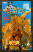 New Vintage Conan The King Remco 1982 Figure In Original Sealed Unpunched Rare