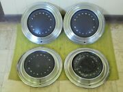 Take Offs 1970 Plymouth Hubcaps 15 Set Of 3 Wheel Covers 70 Hub Caps