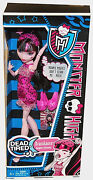 Monster High Collection_dead Tired Series_draculaura 9 Inch Fashion Doll_new_mib