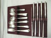 Holmes And Edwards Inlaid Youth Silverplate Flatware Set 50 Pcs