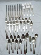 Holmes And Edwards Youth Silver Plate Flatware 48 Pc Set Silverware