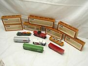 Lot Vintage Tyco Ho Scale Rolling Stock Train Cars '76 Caboose Western Maryland