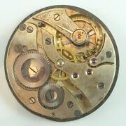 Unsigned Swiss Pocket Watch Movement - Grade 15 Jewel - Spare Parts / Repair