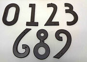 Atlas Homewares 5½ Mission Oil Rubbed Bronze House Numbers