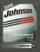 Johnson Outboards 2006 4 Stroke 30 Hp Models Service Manual P/n 5006592