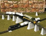 Ho Scale - 47-piece Over Nand039 Under Pier Set Nifb By Atlas Item Atl-80