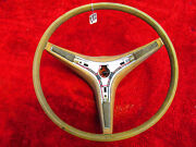 1971 1972 1973 Plymouth Dodge A B Body Tan Steering Wheel Charger Roadrunner