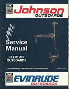 Evinrude Johnson Marine Boat Electric Outboards 1992 Service Manual P/n 508140