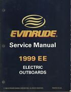 Evinrude Marine Boat 1999 Ee Electric Outboards Service Manual P/n 787021