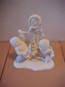 Dept 56 Snowbabies Ring The Bells It's Christmas New In The Box Bell Ringers