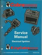 Omc Outboard Marine Cobra 1994 Electrical/ignition Service Manual P/n 500595