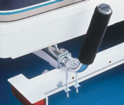 Fulton/wesbar Cequent Boat Trailer Guide Pair 20 W/cushioned Roller Bgr200101