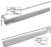 Dodge Challenger Inner Outer Rocker Panel 4 Piece Set Left And Right 1970-1974