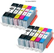 10 Blackandcolor Ink Toner For Canon Pixma Mg5720 All-in-one Cannon Inkjet Printer