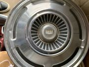 Vintage Ford 1965-1970 Hubcap 3 Lions With Crown Symbol And03970 Hub Cap 15andrdquo