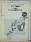 917.60652- Sears Suburban 3pt Bottom Plow- Owners Manual On Cd