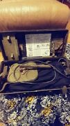 1955 U.s. Army Signal Corps Anti-tank Mine Detector Set With Case Backpack