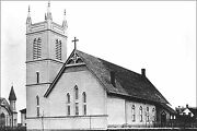 Poster, Many Sizes The Old Holy Rosary Church Circa 1889 With The New Bell Towe