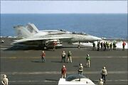 Poster Many Sizes F-14a Tomcat F-14 Fa-18a Hornet F-18 Uss Theodore Roosevelt