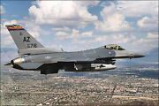 Poster Many Sizes 195th Fighter Squadron General Dynamics F 16c Block 42h Figh