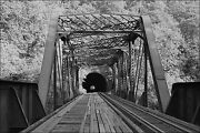 Poster Many Sizes Baltimore And Ohio Railroad Ilchester Tunnel And Metal Truss