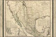 Poster Many Sizes Map Of The United States Of Mexico 1826