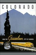 Poster, Many Sizes Chicago And Nw Union Pacific Railroad Denver Colorado Streamli