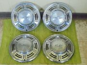 1970 Chevy Chevelle Hub Caps 14 Set Of 4 Chevrolet Wheel Covers 70 Hubcaps