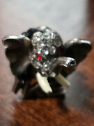 Dwight Eisenhower 1952 Campaign Pin. Very Rare. Elephant On Front/ Back Andldquoikeandrdquo