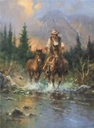 Horse Trader - G Harvey - Signed And Numbered Ltd Ed Giclee Canvas