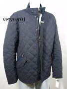 Nwt Barbour Shoveler Quilted Jacket Navy Blue Size Xxl