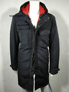 Victorinox Swiss Army 3n1 Military M51 Hooded Parka Removable Liner Navy Size S