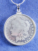 1214 Morgan Liberty Head 1890 Us Silver Dollar Coin Jewelry-coin Is Removable