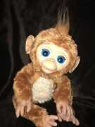 Furreal Friends Cuddles My Giggly Monkey A1650 Hasbro Clean Working 6