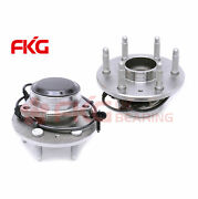 Set Of 2 New Front Wheel Hub Bearing For Chevy Gmc Pickup Truck 2wd 6lug 515054