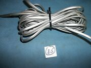 Gray 27 Feet Rotary Phone/wall Supply Cord, Maleand Male ,modu,for Part