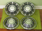 Nos 1969 Chevrolet Hub Caps 14 Set Of 4 Chevy Wheel Covers 69 Hubcaps