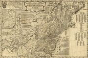 Poster Many Sizes Map Of British Colonies In North America 1776
