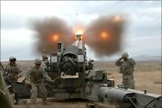 Poster Many Sizes U.s. Army Charlie Battery 1-377 Fa Fire M198 155mm Howitzer