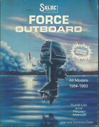 Seloc Publications Force Outboard All Models 1984-1993 Tune-up And Repair Manual