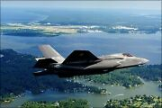 Poster, Many Sizes F-35b Lightning Ii Naval Air Station Patuxent River Marylan