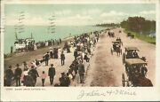 Old Vintage Shore Drive In Chicago Illinois Postcard