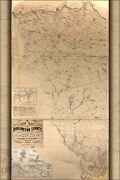 Poster Many Sizes Map Of Burlington County New Jersey 1859 P2
