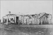 Poster Many Sizes Officers Quarters At Ft. Rawlins Wyoming May 7 1877